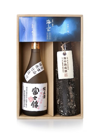 「日本一熟成~日本一深く、日本一高く~『海と空』」