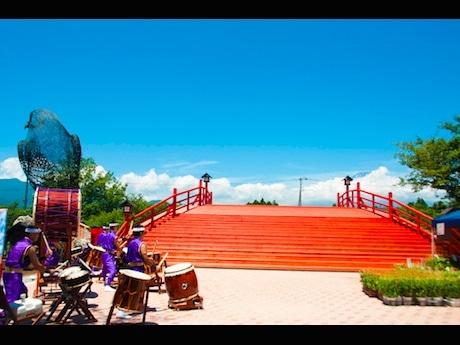 太鼓橋「初夢の橋」