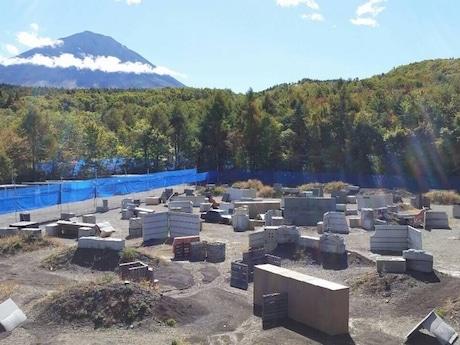 昼間の「Fuji Forest Force」
