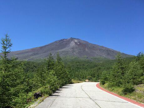 須走から望む夏の富士山