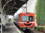 岳南電車でハロウィーン装飾「かぼちゃ電車」運行中 フォトコンテストも