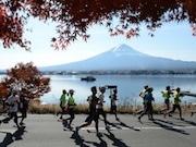 河口湖周辺で「富士山マラソン」 フルマラソンとチャリティーファンラン