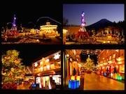 富士急ハイランドでクリスマスイベント 各所でイルミネーションなど