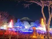山中湖でアートイルミネーション 打ち上げ花火やクリスマスコンサートも
