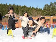 富士山こどもの国に雪遊びスペース「雪の丘」 オープニングイベントも