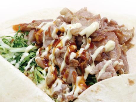焼肉サンド「富士金華豚サンド」