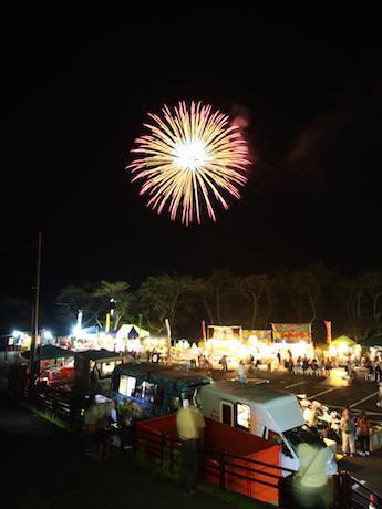 過去開催時の花火大会の様子