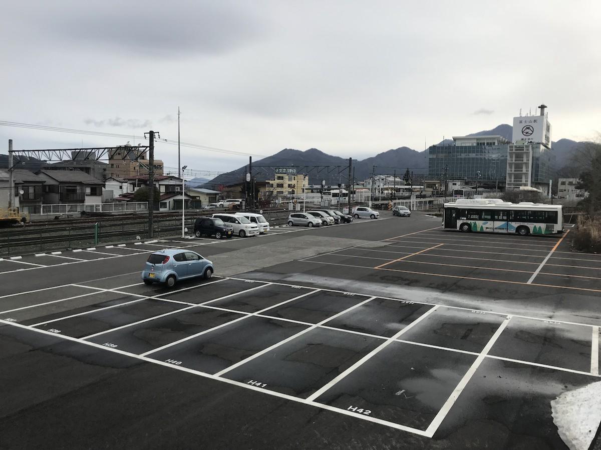 「富士山駅パーク&ライド」