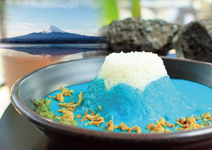 富士山をイメージした「Mt.Fuji Curry」
