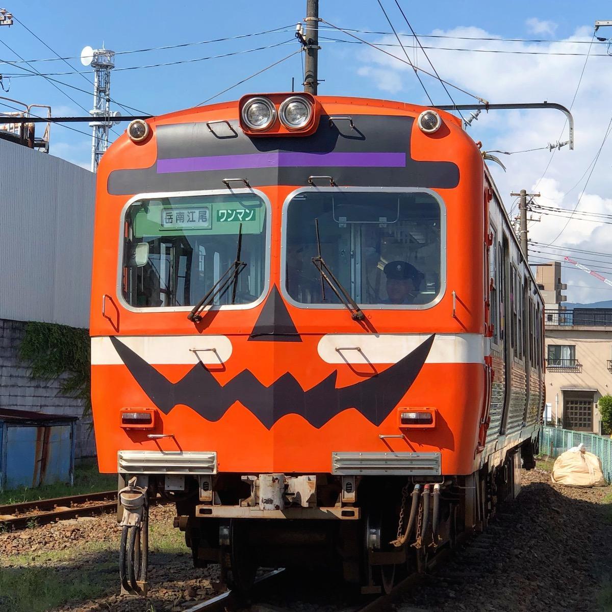 ハロウィーン電車