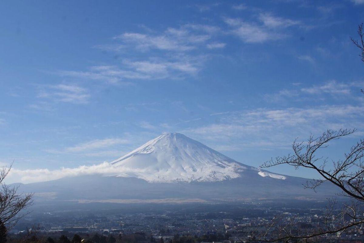 富士山の麓にある小山町