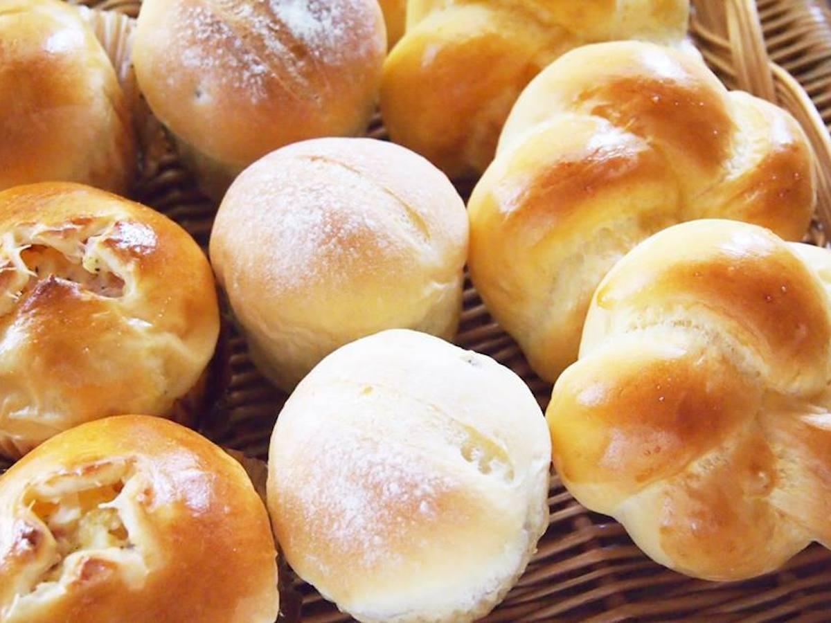 静岡県内のパン店の商品を集める