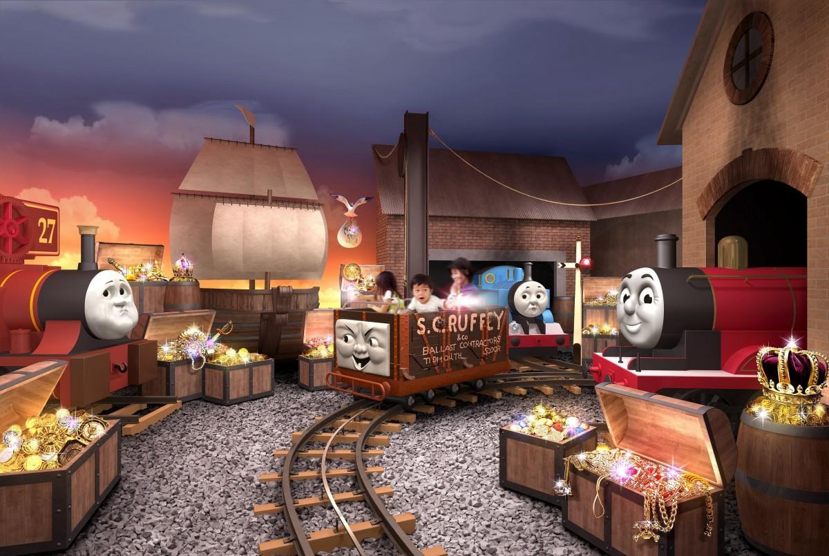 「トーマスのたからさがし大冒険」イメージ