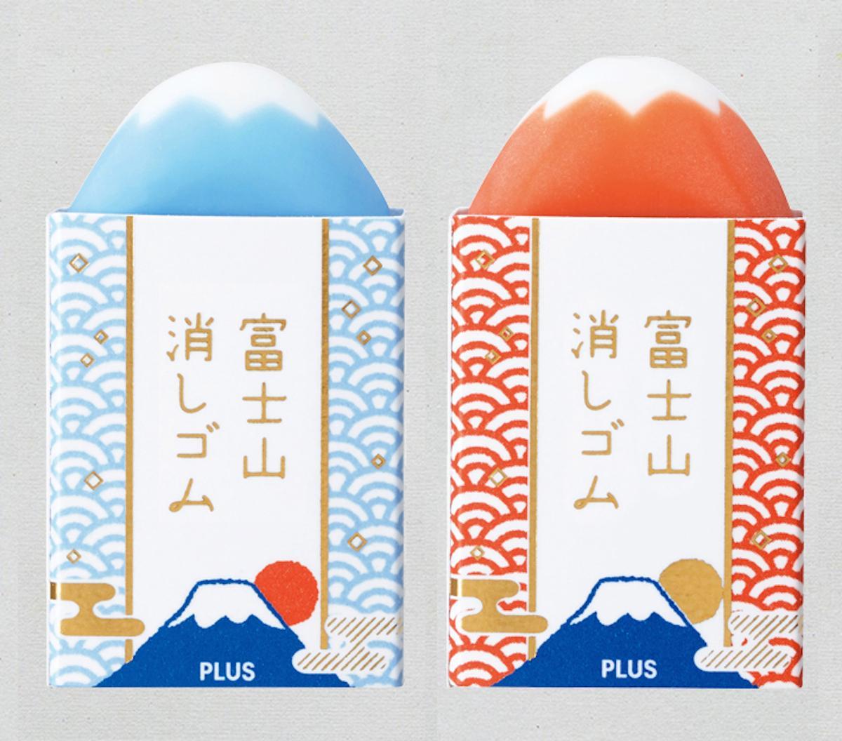 「エアイン 富士山消しゴム」