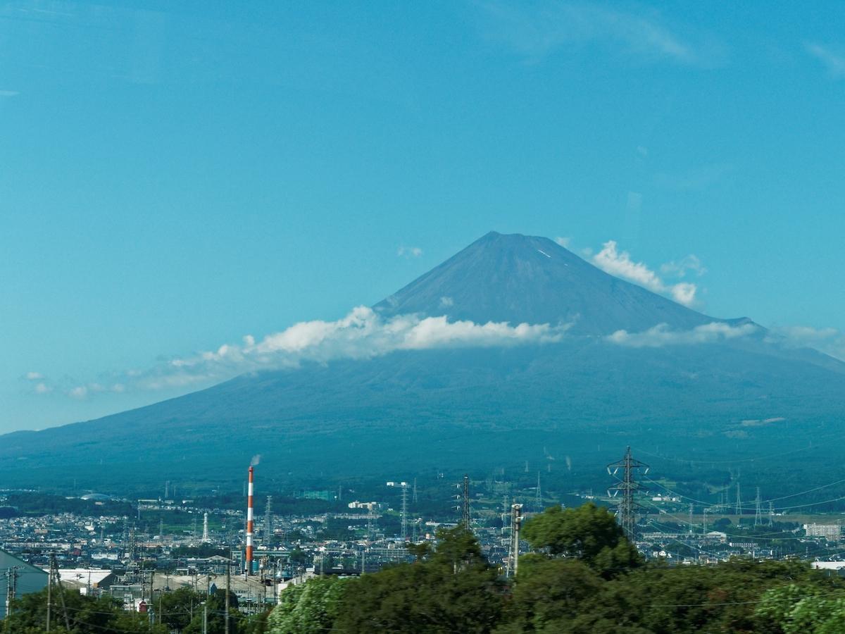 静岡県側からの富士山
