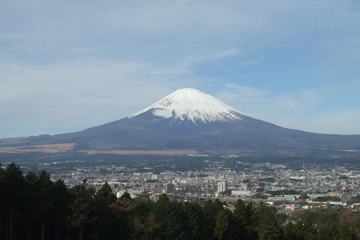 富士宮市と富士山