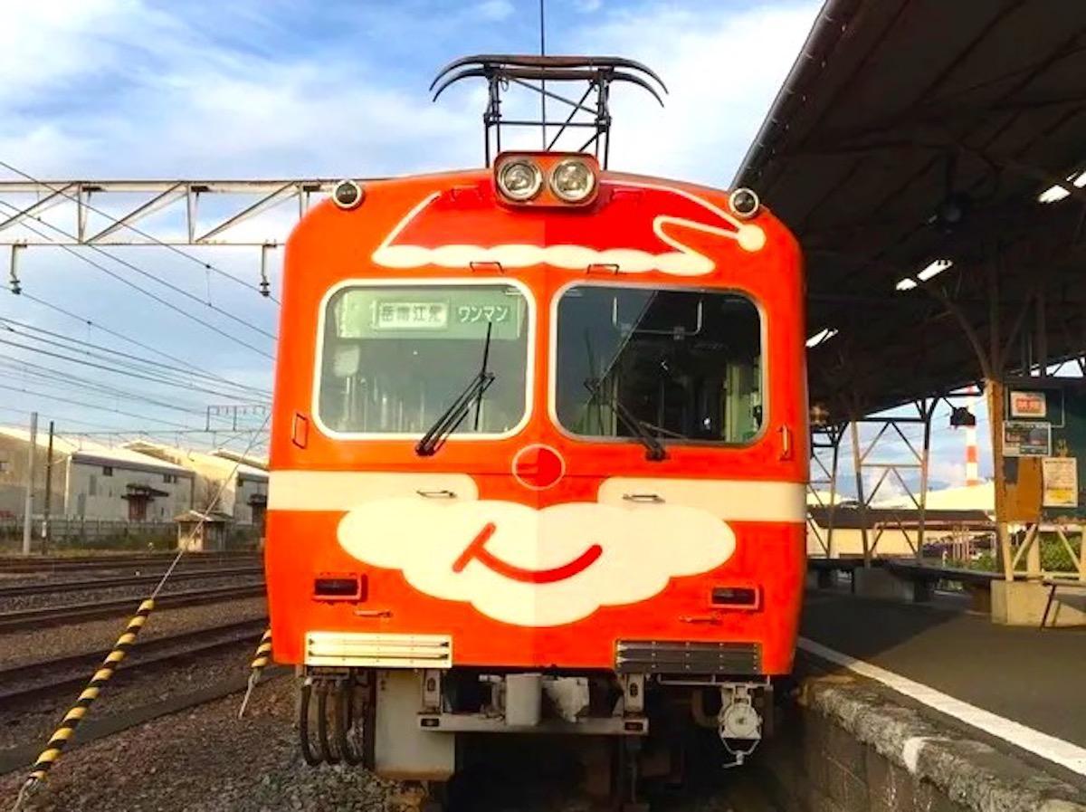 岳南電車クリスマストレイン(過去開催時の様子)