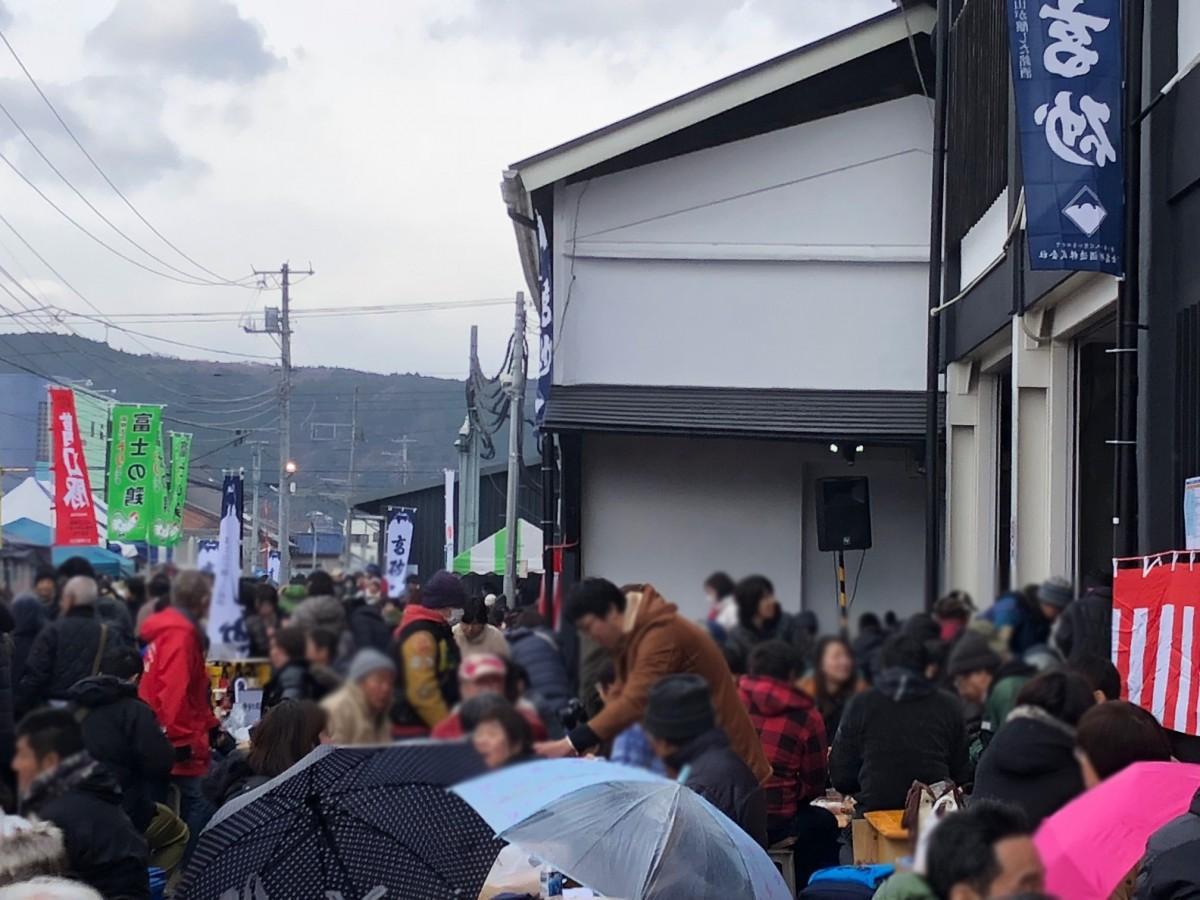 「富士高砂酒造」蔵開き、過去開催時の様子