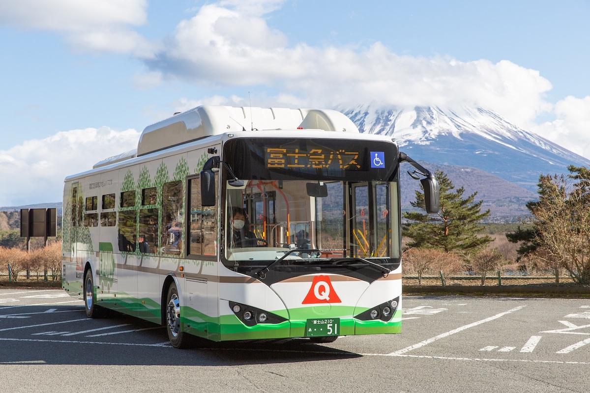 導入した電気バス