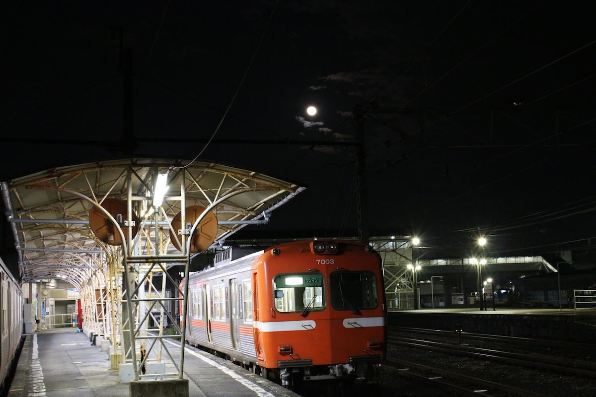 「夜景電車」過去開催時の様子