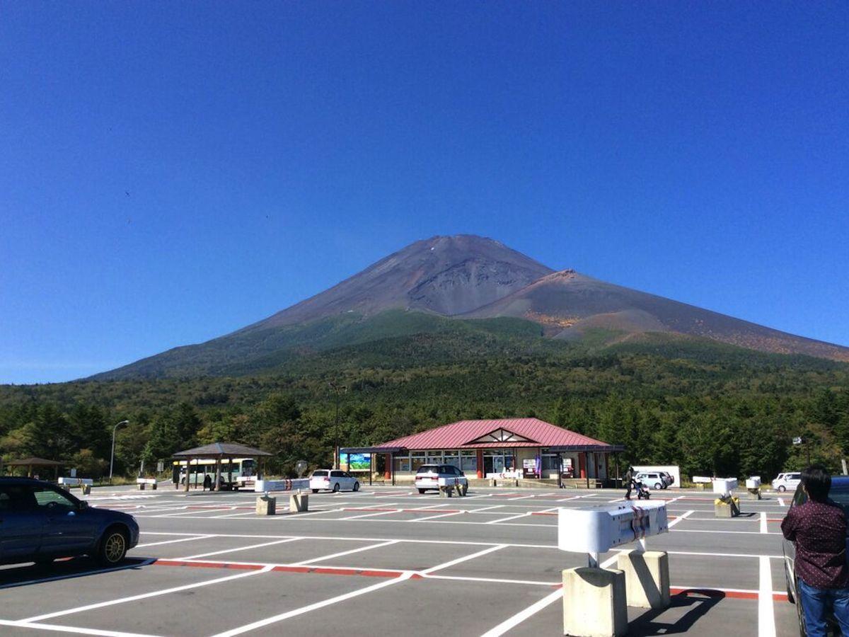 御殿場から望む夏の富士山