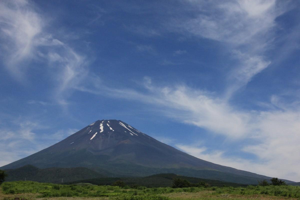 裾野市から見る富士山