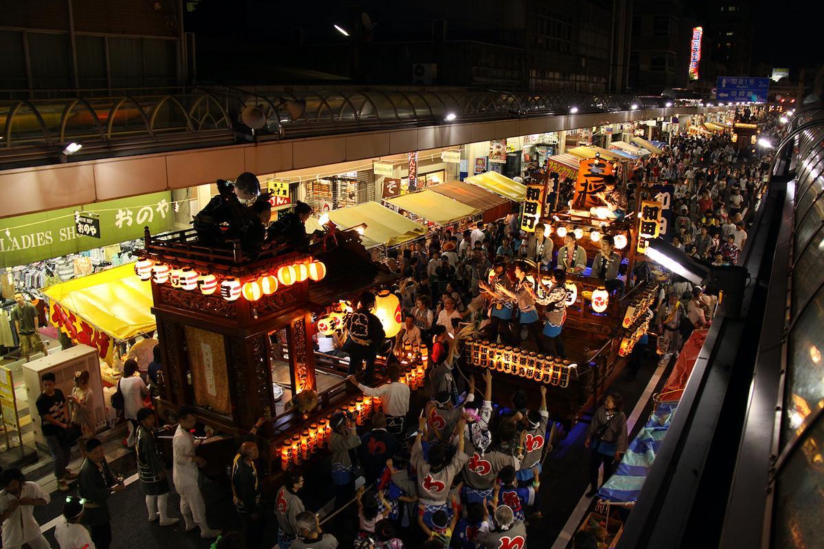 吉原祇園祭過去開催時の様子