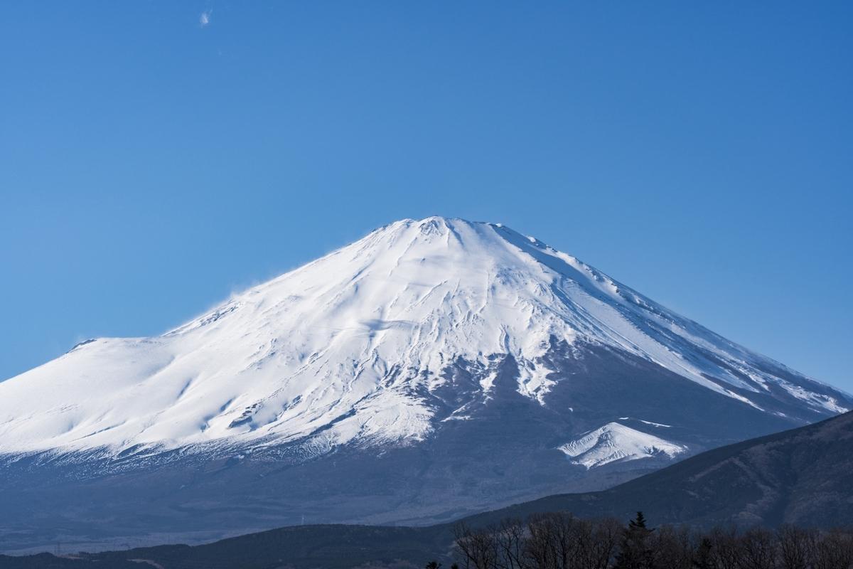 小山町からの富士山