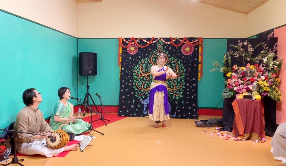 インド舞踊の会サランガイ活動の様子