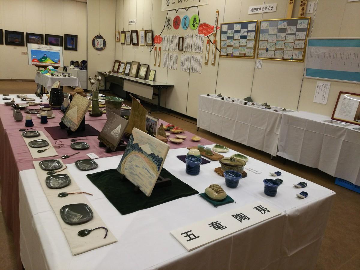 裾野市「富士山芸術展」過去開催時の様子
