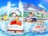 富士山麓の遊園地「ぐりんぱ」に水陸走行の新アトラクション「ビーバーフィーバー」