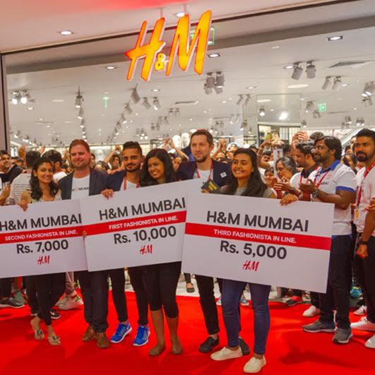 ムンバイでH&M2店舗がオープン
