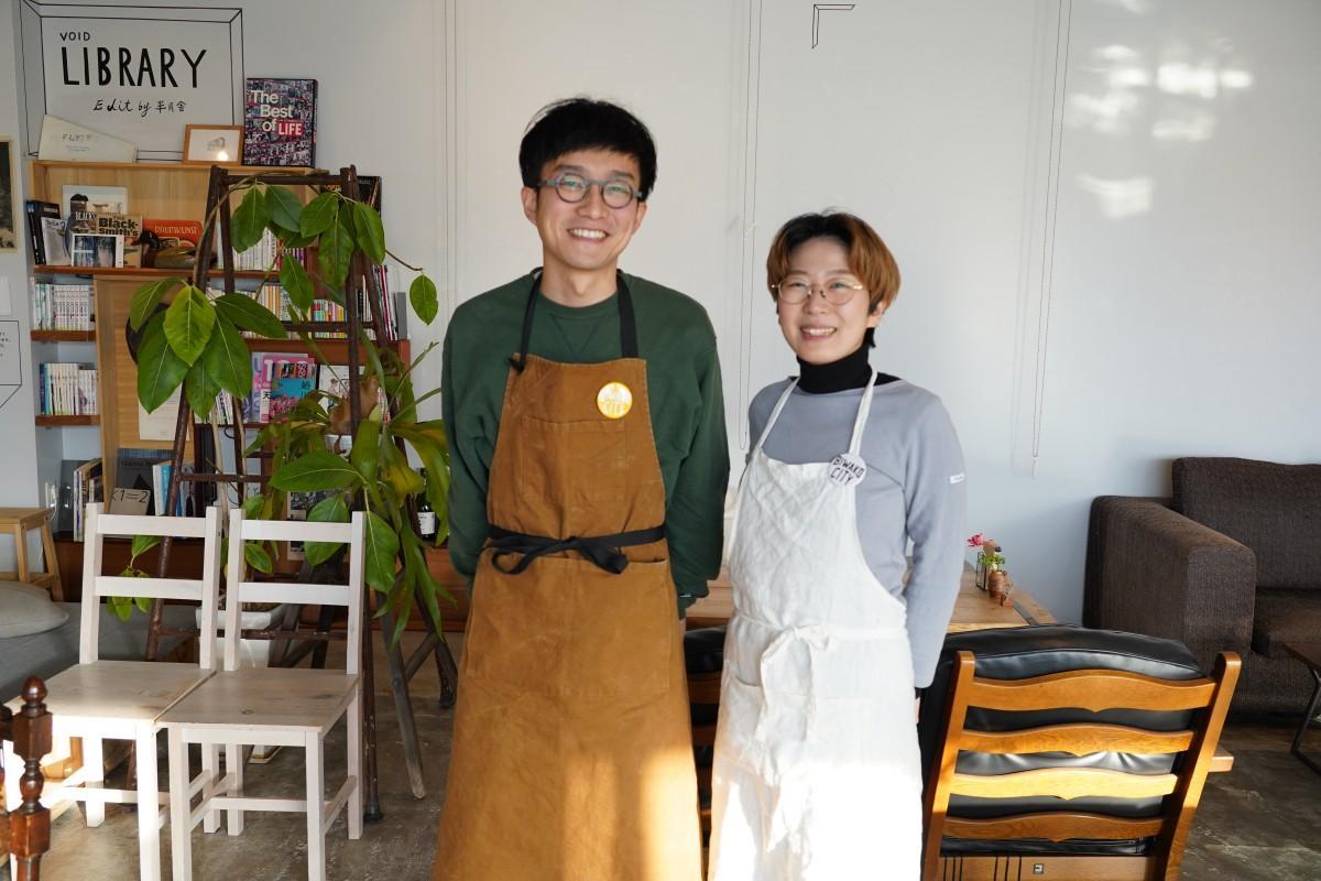 「きみと珈琲」を営む小川夫妻