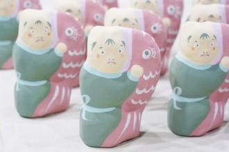 現代の生活様式にマッチした張り子人形 長浜「仕立屋と職人」が限定販売