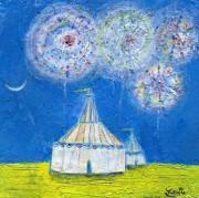 長崎「月の美術館」館長が夫婦展-東山手から長崎を盛り上げる