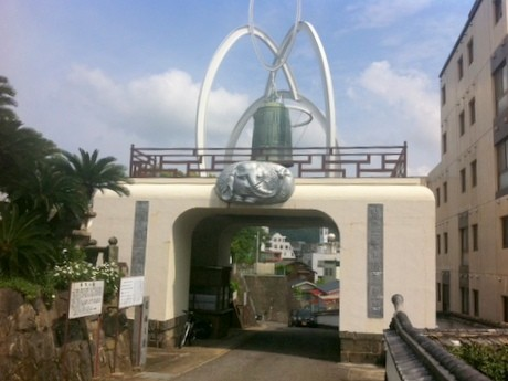 福済禅寺の「鎮魂の鐘」