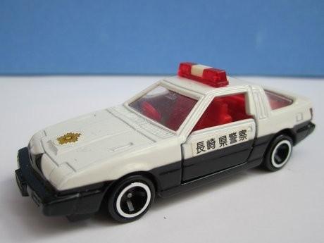 長崎県警察のパトカー(三菱・スタリオン2000ターボ)