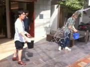 長崎・リカちゃん通りで「打ち水大作戦」-初の組織的イベント