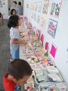 長崎県美術館で企画展の貼り絵体験講座-イッツ・ア・スモールワールドをモチーフに
