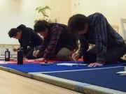 長崎で手ぶら参加できる「書き初め大会」-カフェ出店も