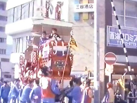 1980年の元船町唐船祭の映像から