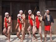 長崎県美術館で「フンドシミーティング」-ふんどし普及活動では全国初