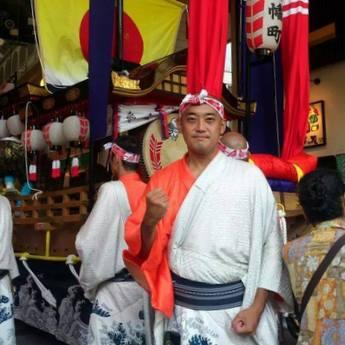 昨年の長崎くんち参加時の橋本さん