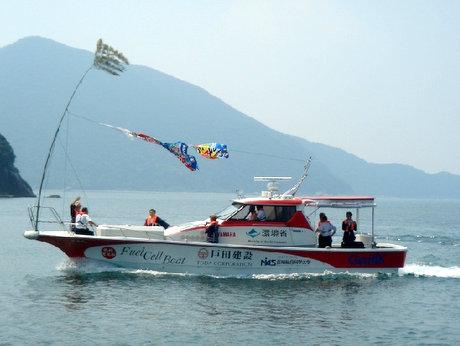 国内初の「燃料電池船」(同学ホームページより)