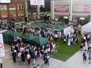 JR長崎駅かもめ広場でアイス万博「あいぱく」開催