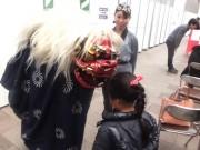 長崎・浜町商店街で初売りイベント 獅子舞や音楽演奏も