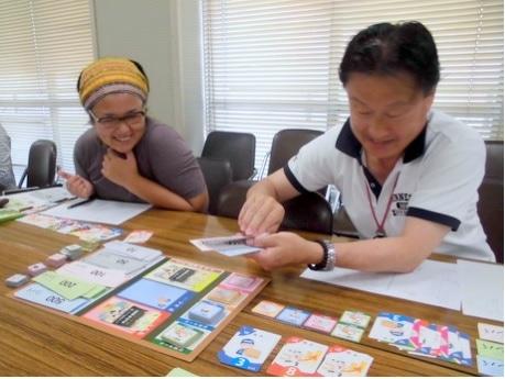 長崎県勤労福祉会館で「社長BOKIゲーム」 ボードゲームで学ぶ簿記会計