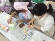 長崎で子どもパン教室 講師が「2時間でできるメロンパン作り」を考案