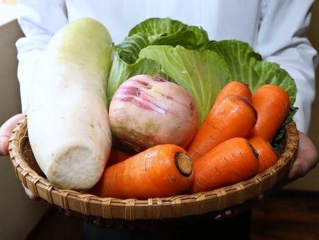 食材となる野菜