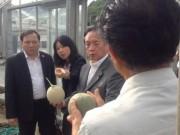 ベトナム国立農業大学センター長が長崎訪問